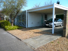 Ellis Miller house exterior