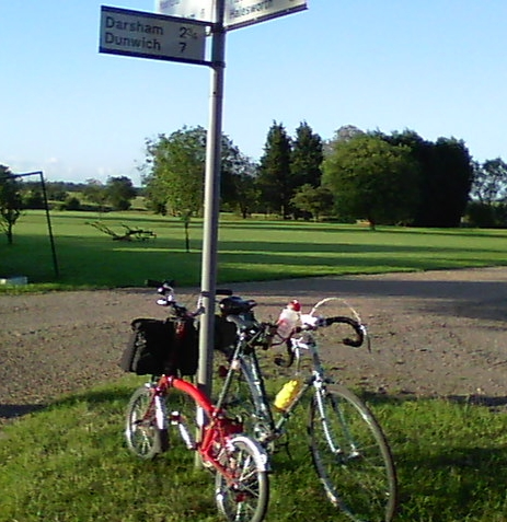 Signpost to Dunwich
