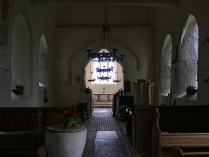 Up Marden Church Interior