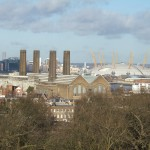 View from Greenwich Observatory - North East