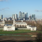 View from Greenwich Observatory - North